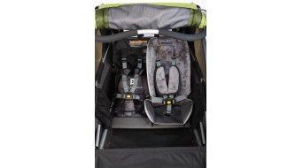 Burley Baby Snuggler Sitzverkleinerer / Sitzeinlage grau