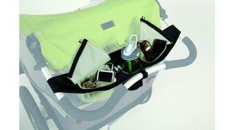 Burley Taschen-System für Schiebebügel grau