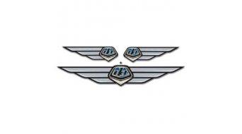 Troy Lee Designs Wing Emblem Aufkleber blue