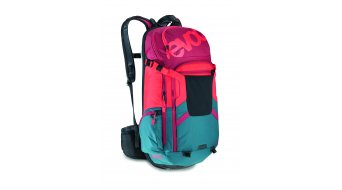 EVOC Freeride Trail Team 20L Rucksack mit Anti-Impact System Gr. XL petrol/red/ruby Mod. 2016