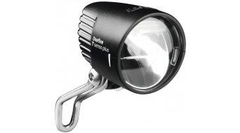 Busch & Müller Lumotec IQ OneFive Plus Dynamo Scheinwerfer inkl. Schalter mit Standlichtfunktion und Tagfahrlicht (Licht24) schwarz