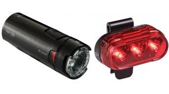 Bontrager Ion 35/Flare 1 Beleuchtungsset black
