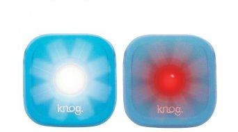 Knog Blinder 1 Standard Twinpack LED Beleuchtung / blue