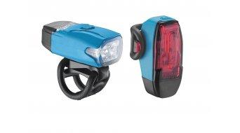 Lezyne LED KTV Drive Beleuchtungsset LED-rot/weiß
