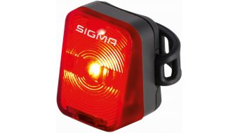 Sigma Sport Nugget Beleuchtung schwarz LED-red
