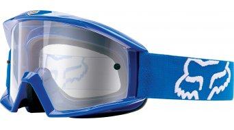 Fox Main MX-Goggle blue/clear