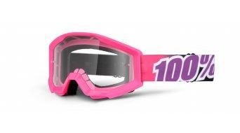 100% Strata Goggle Kinder-Goggle Youth (Anti-Fog clear lens)