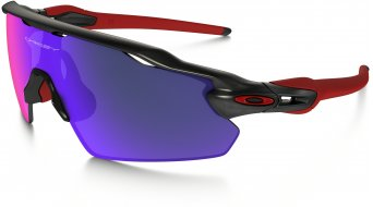 Oakley Radar EV Pitch Brille matte black ink/positive red iridium