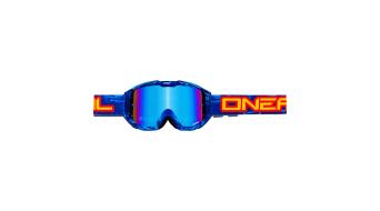 ONeal B1 RL Icebreaker Radium Goggle blau/schwarz Mod. 2017