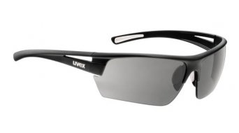 Uvex Gravic Brille black mat /