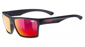 Uvex LGL 29 Brille Lifestyle-Brille black mat/mirror