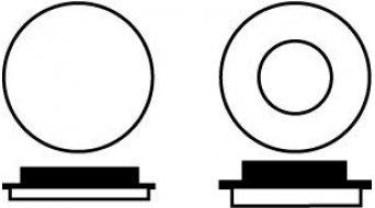 EBC CFA248 Bremsbeläge für Hope Mechanisch Grün XC/Allround