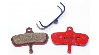 Kool-Stop Disc-Bremsbeläge für Avid Code Stahl-Rückplatte/Belag-organisch