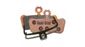 Kool-Stop Disc-Bremsbeläge für Avid SRAM X.0 Trail / Elixir Trail Kupfer-Rückplatte/Belag-gesintert D293 S