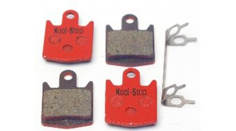 Kool-Stop Disc-Bremsbeläge für Hope M4 2-Paar bis 2005 Stahl-Rückplatte/Belag-organisch D530