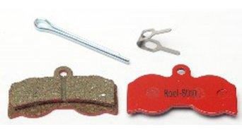 Kool-Stop Disc-Bremsbeläge für Hope XC4 Stahl-Rückplatte/Belag-organisch D540