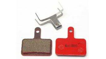 Kool-Stop Disc-Bremsbeläge für Shimano Deore für und Stahl-Rückplatte/Belag-organisch