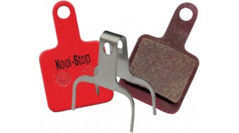 Kool-Stop Disc-Bremsbeläge für TEKTRO AURIGA SUB,E-SUB,VOLANS,TWIN Stahl-Rückplatte/Belag-organisch D735