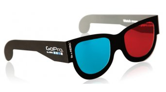 GoPro 3D Brille (rot/blau) (5 Stk.)