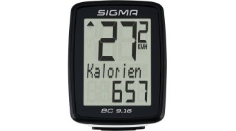 Sigma Sport Fahrradcomputer BC 9.16 kabelgebunden