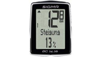 Sigma Sport Fahrradcomputer BC 14.16 kabelgebunden