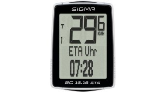 Sigma Sport Fahrradcomputer BC 16.16 STS CAD kabellos