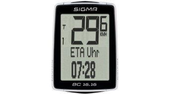 Sigma Sport Fahrradcomputer BC 16.16 kabelgebunden