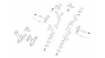 Avid Arm Spring Kit - Shorty Ultimate Grey (L/R)