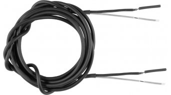 SON Koaxialkabel 2 x 0,5 mm² Außen Ø 3 mm schwarz - Meterware