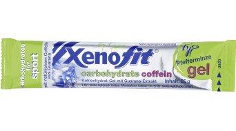 Xenofit carbohydrate Gel Beutel 25g Coffein Pfefferminze