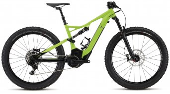 Specialized Turbo Levo FSR Comp 6Fattie 650B+ / 27.5+ MTB E-Bike Komplettbike monster green/black Mod. 2017 - TESTBIKE Nr.