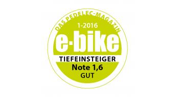 Bergamont E-Line C Deore Active 400 Wave 28 E-Bike Trekking Komplettbike Unisex-Rad Gr. 52cm black/blue/grey Mod. 2016