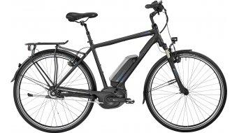 Bergamont E-Horizon N8 CB 400 Gent 28 Trekking E-Bike Komplettbike black/blue (matt/shiny) Mod. 2017