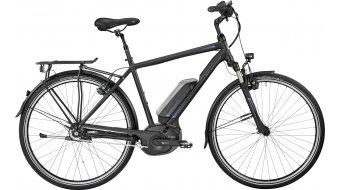 Bergamont E-Horizon N8 CB 500 Gent 28 Trekking E-Bike Komplettbike black/blue (matt/shiny) Mod. 2017