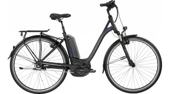 Bergamont E-Horizon N8 CB 500 Wave 28 Trekking E-Bike Komplettbike Unisex black/blue (matt/shiny) Mod. 2017