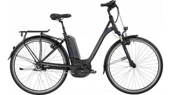 Bergamont E-Horizon N8 CB 400 Wave 28 Trekking E-Bike Komplettbike Unisex black/blue (matt/shiny) Mod. 2017
