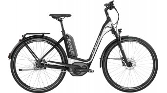Bergamont E-Ville A8 500 28 Urban E-Bike Komplettbike Unisex black/white (matt/shiny) Mod. 2017