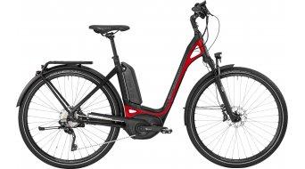 Bergamont E-Ville XT 28 Urban E-Bike Komplettbike Unisex black/red (matt shiny) Mod. 2017