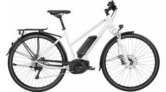 Bergamont E-Horizon 8.0 Lady 28 Trekking E-Bike Komplettbike Damen-Rad white/red (shiny) Mod. 2017