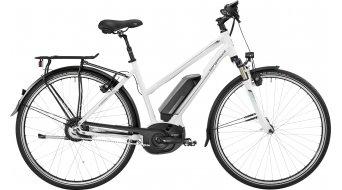 Bergamont E-Horizon N330 Lady 28 Trekking E-Bike Komplettbike Damen-Rad white/petrol (shiny) Mod. 2017