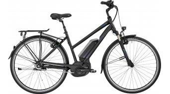 Bergamont E-Horizon N8 CB 400 Lady 28 Trekking E-Bike Komplettbike Damen-Rad black/blue (matt/shiny) Mod. 2017