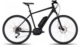 Ghost Andasol Cross 2 AL E-Bike Komplettrad black/micro chip gray/titanium gray Mod. 2017