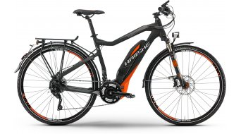 Haibike SDURO Trekking S RX 28 E-Bike S-Pedelec Damenrad Gr. 44cm schwarz/rot/grau matt Yamaha 45km/h-Antrieb Mod. 2016