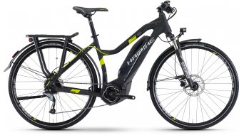 Haibike SDURO Trekking 4.0 28 E-Bike Damen Komplettrad schwarz/titan/lime matt Yamaha PW-Antrieb Mod. 2017