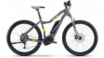 Haibike XDURO Cross 4.0 28 E-Bike Damen Komplettrad titan/lime matt Bosch Performance CX-Antrieb Mod. 2017