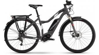 Haibike XDURO Trekking 3.0 28 E-Bike Damen Komplettrad titan/weiß/rot matt Bosch Performance CX-Antrieb Mod. 2017