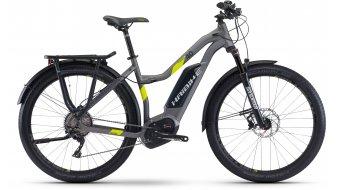 Haibike XDURO Trekking 4.0 28 E-Bike Damen Komplettrad titan/lime matt Bosch Performance CX-Antrieb Mod. 2017