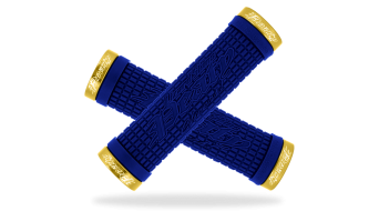 Lizard Skins Peaty Cheers Lock-On Griffe blue/gold