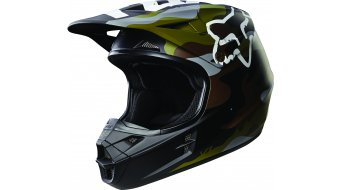 Fox V1 Camo Helm Herren MX-Helm green camo