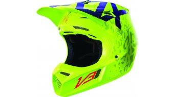 Fox V3 Cauz MIPS Helm Herren MX-Helm Gr. L (59-60cm) yellow